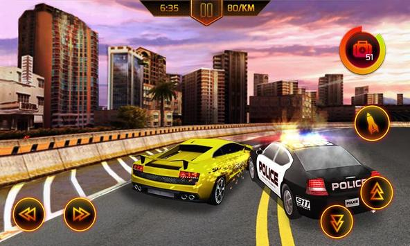 Police Car Chase poster