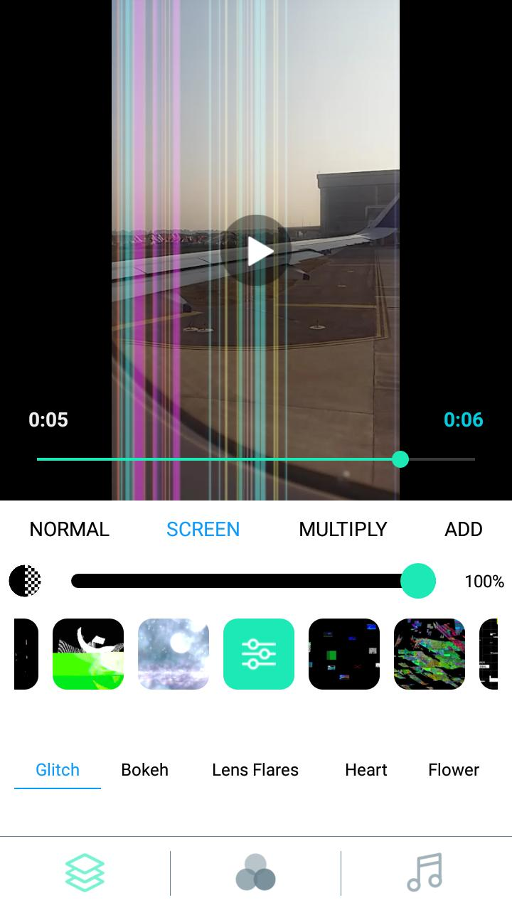 Glitch Video Editor-video effects & filters,VHS Fx for Android - APK