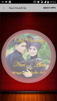 Novi & Arie (The Wedding) poster