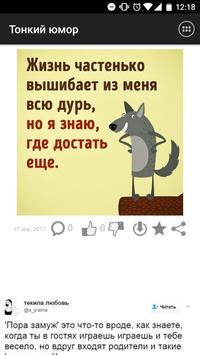 Тонкий юмор poster