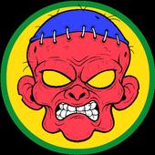 Zombie Photo Stickers icon