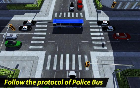 Prisoner Transport Police Bus apk screenshot