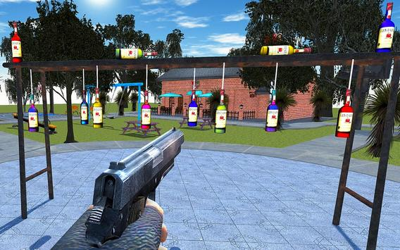 Bottle Shoot 3D Challenge Game apk screenshot