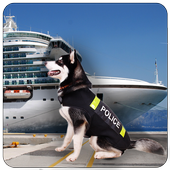 Police Dog Cruise Crime Chase icon