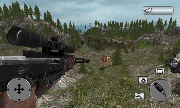 Ultimate 4x4 Lion Hunting Sim screenshot 3