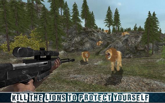 Ultimate 4x4 Lion Hunting Sim screenshot 10