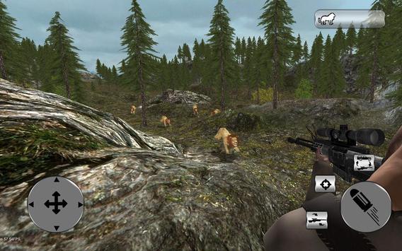 Ultimate 4x4 Lion Hunting Sim screenshot 11