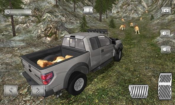 Ultimate 4x4 Lion Hunting Sim screenshot 4
