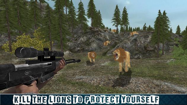 Ultimate 4x4 Lion Hunting Sim screenshot 5
