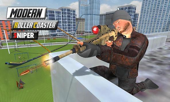 Modern Roller Coaster Sniper poster