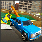 Tow Truck Car transporter Sim icon