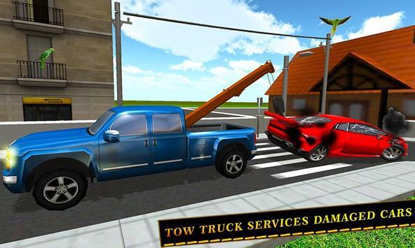 Tow Truck Car transporter Sim screenshot 1