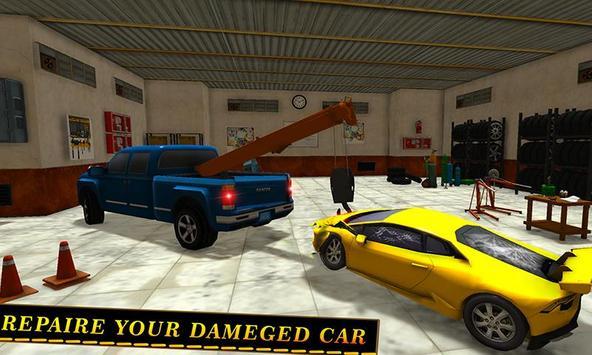 Tow Truck Car transporter Sim screenshot 3