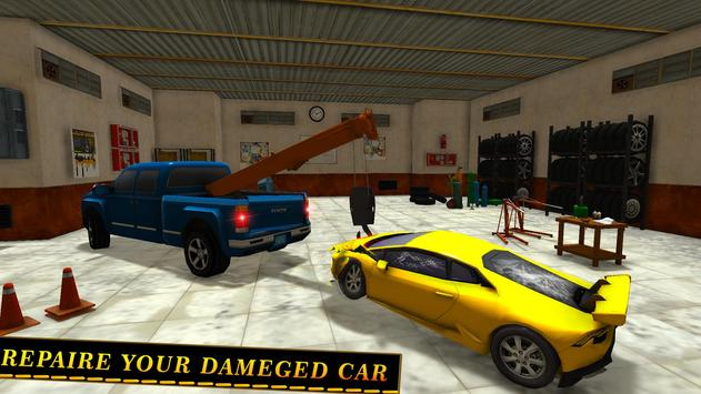 Tow Truck Car transporter Sim apk screenshot