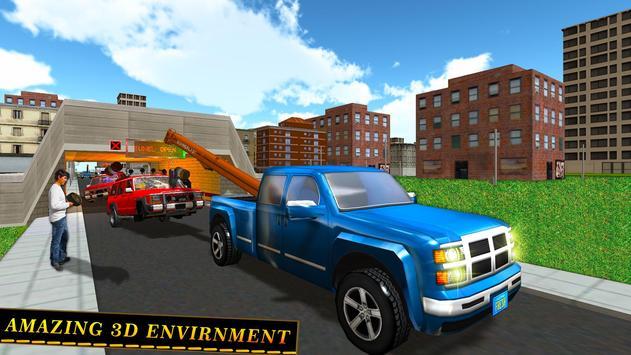 Tow Truck Car transporter Sim screenshot 9