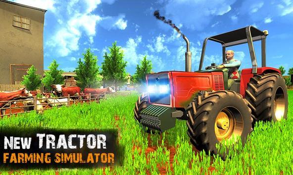 Tractor Farm Life Simulator 3D poster