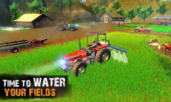Tractor Farm Life Simulator 3D screenshot 2