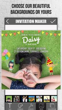 Invitation maker apk download free photography app for android invitation maker apk screenshot stopboris Choice Image