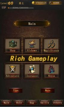 Legend of Darkness-Offline RPG poster