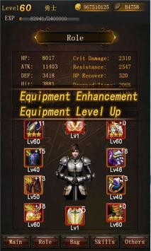 Legend of Darkness-Offline RPG apk screenshot