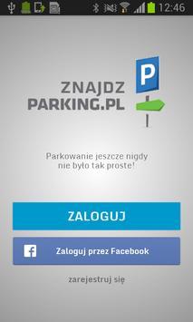 Znajdź Parking poster