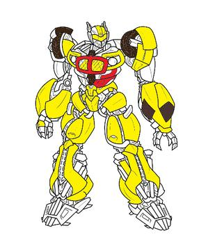 Trans Robot Coloring Game Kids apk screenshot