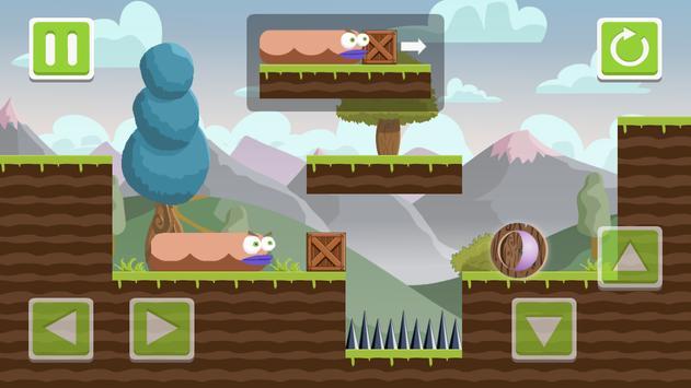 Hungry Worm: Homecoming screenshot 2