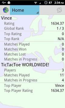 TicTacToe WORLDWIDE! screenshot 1