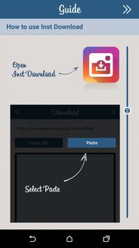 Inst Download - Video & Photo تصوير الشاشة 1