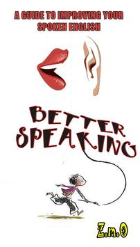 Better Speaking English poster