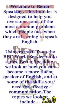 Better Speaking English screenshot 1