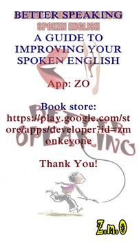 Better Speaking English apk screenshot