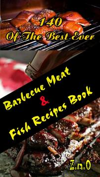 Barbecue Meat & Fish Recipes poster