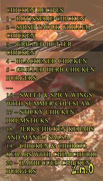 Barbecue Meat & Fish Recipes apk screenshot
