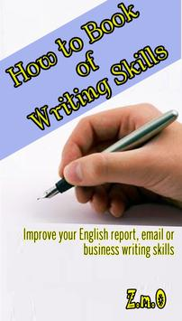 How to Book of Writing Skills poster