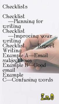 How to Book of Writing Skills apk screenshot