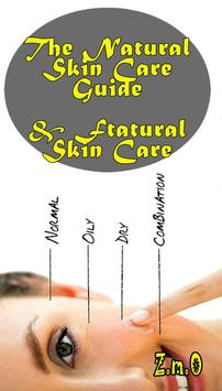 The Natural Ftatural Skin Care poster