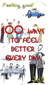 Ways to feel better everyday poster