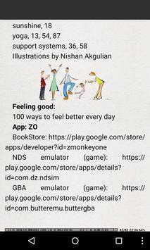 Ways to feel better everyday screenshot 7