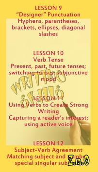 WRITING SKILLS SUCCESS A DAY screenshot 3