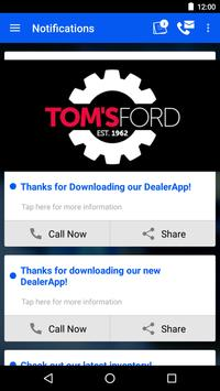 Tom's Ford DealerApp apk screenshot