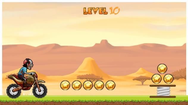 Zombie Moto Run apk screenshot