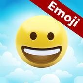 Emoji in Clouds icon