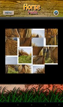 Horse Puzzle poster