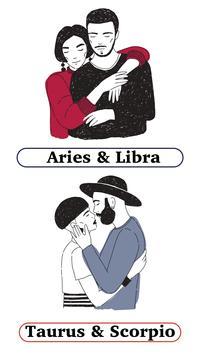Daily Love Horoscope 2018- Zodiac Compatibility poster