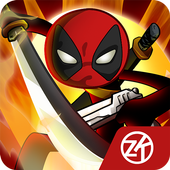 Stick vs zombie - Stickman warriors - Epic fight icon