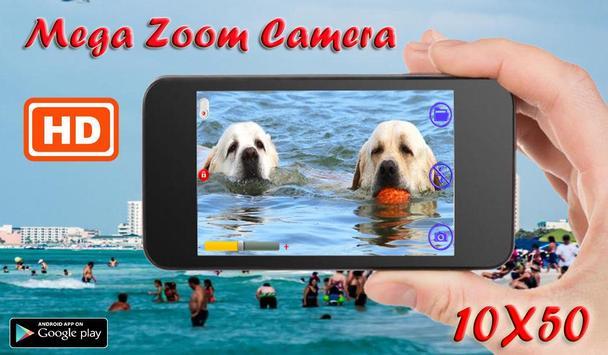 8K Mega Zoom Camera UHD poster