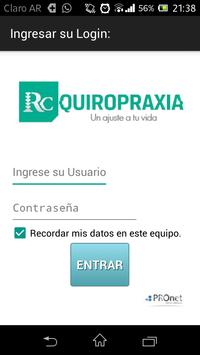 RC Quiropraxia poster