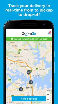 Zoom2u - Fast Courier Delivery poster