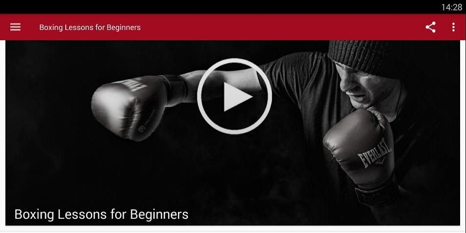 Boxing Lessons for Beginners poster